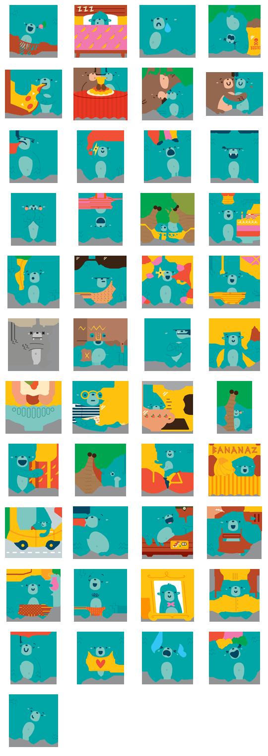 Banana Facebook Stickers