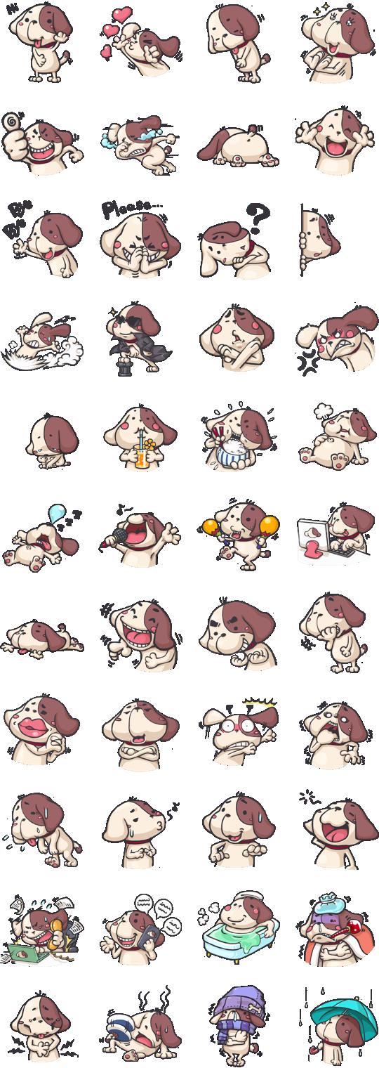 Koko Facebook Stickers