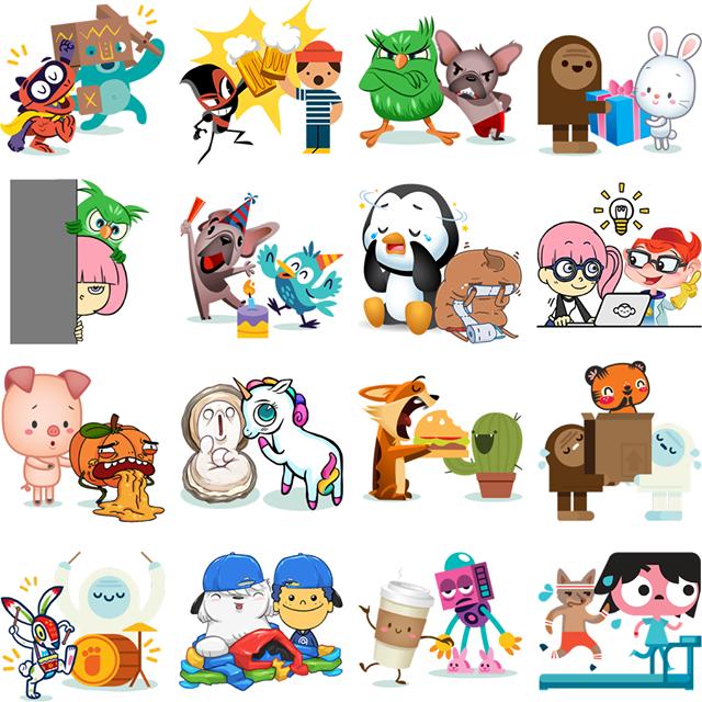 Friendship Facebook Stickers