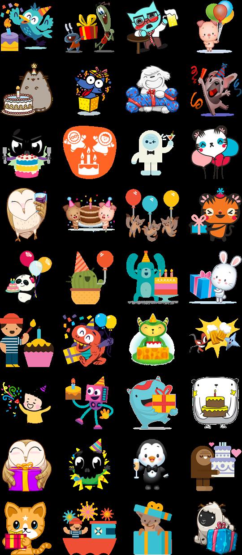 Happy Birthday Facebook Sticker