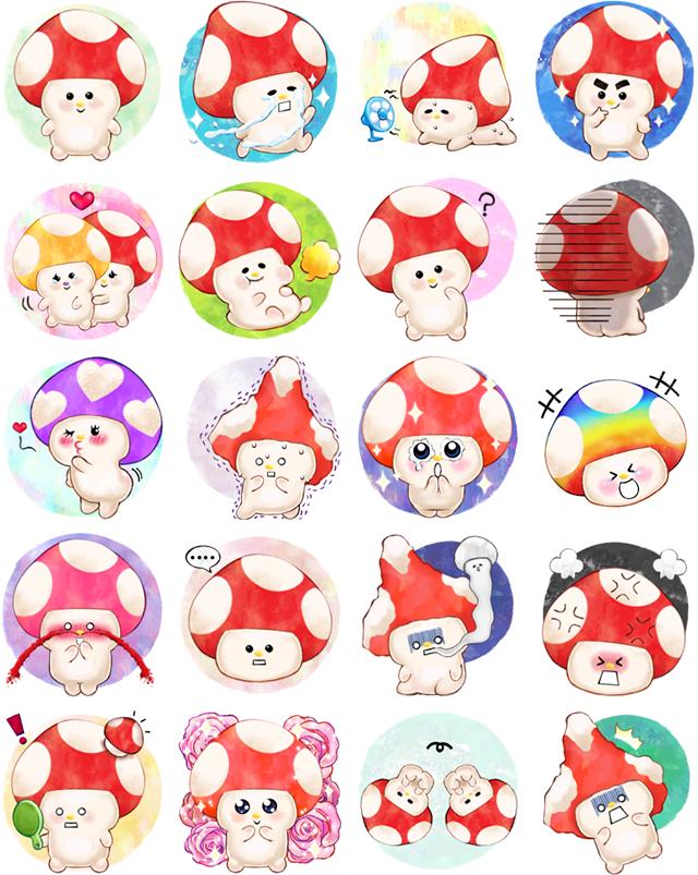 KinoKoko Facebook Sticker