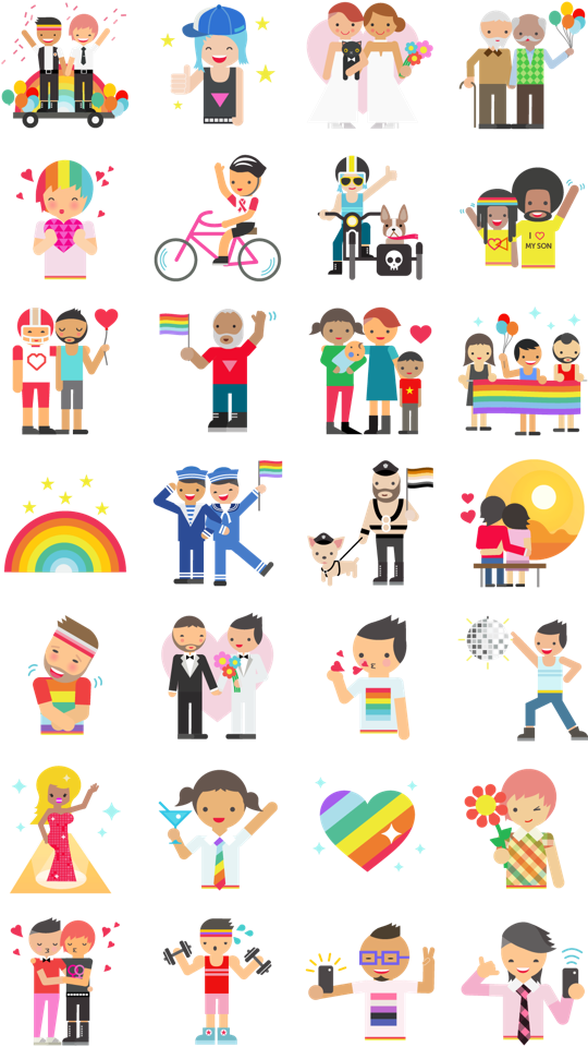 Pride Facebook Sticker