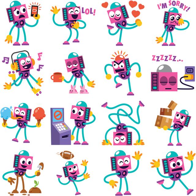 Ruby Facebook Sticker