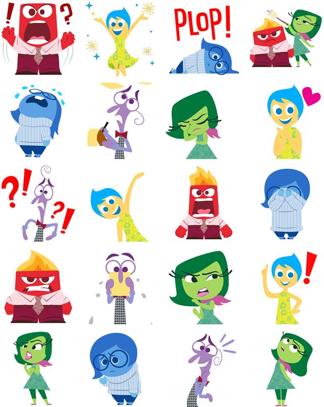 Inside Out Facebook Sticker
