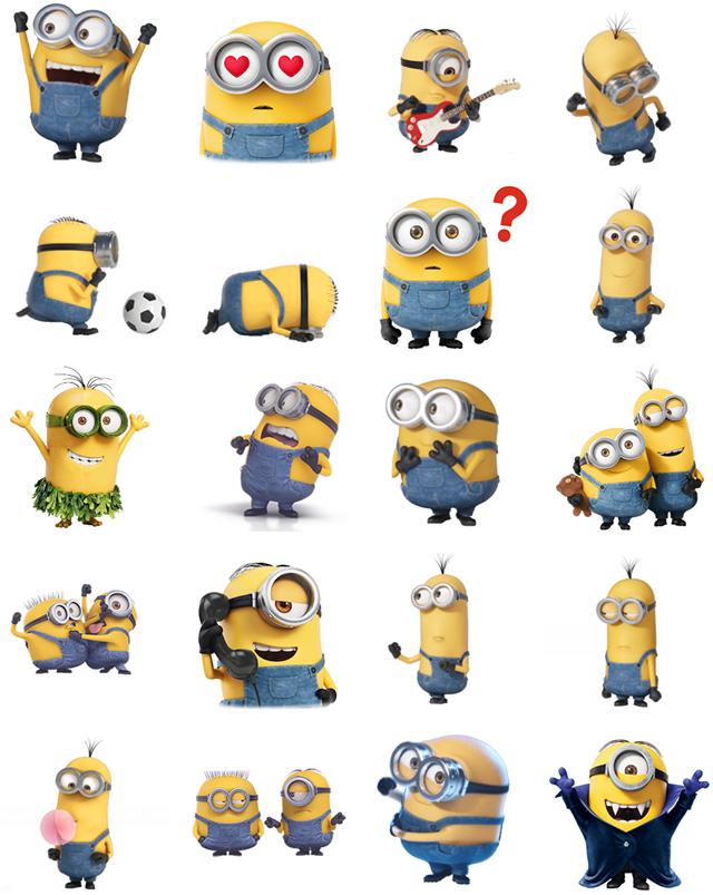 Minions Facebook Sticker