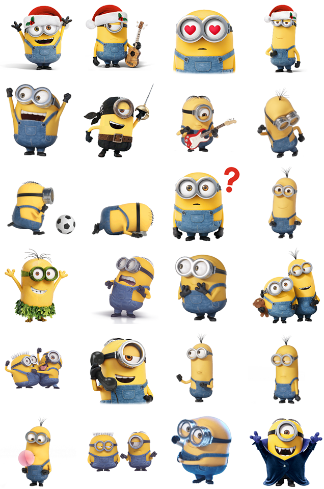 Minions Facebook Stickers