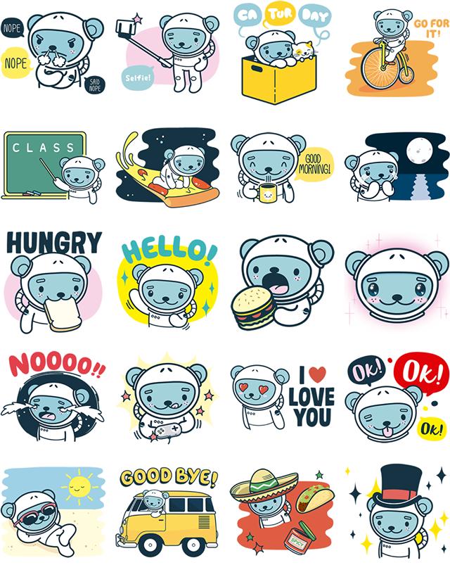 Jokukuma Facebook Sticker