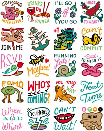 Makin Plans Facebook Stickers