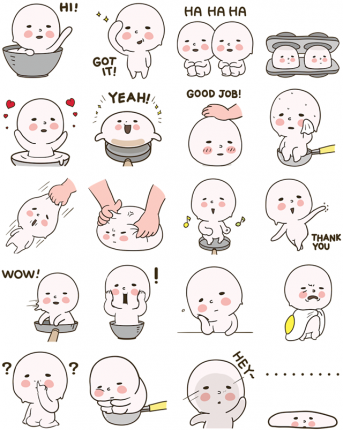 Dough Banjuk Facebook Sticker