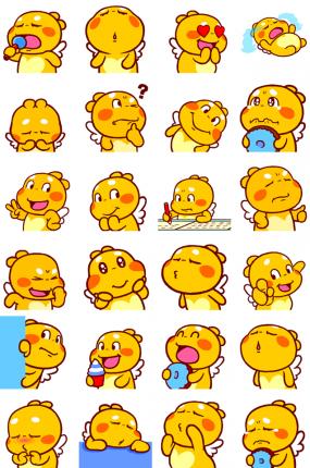 Sweet QooBee Facebook Sticker