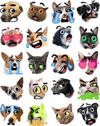 Best of Breed Facebook Messenger Stickers