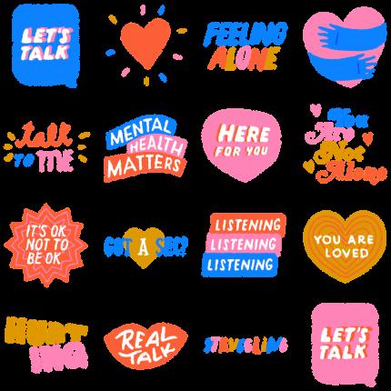 Lets Talk Facebook Sticker