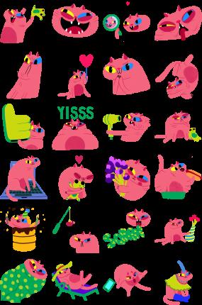 Arnold Facebook Stickers